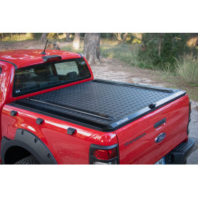 Deck Cover Ranger - Aluminium Outback Black - Double or Extra Cabin