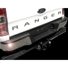 Pare-Chocs / Marche Pied Ranger - Arrière Chromé - (à partir de 2012)