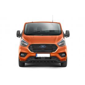 Pare-Chocs Ford Custom - Avec Griffes Inox Noir - (à partir de 2018)