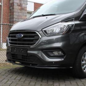 Ford Custom Front Spoiler - Black - (from 2018)