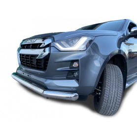 Bumper D Max - Stainless steel protection bar - (N60 from 2021)