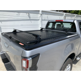 D Max Deck Cover - Black Aluminium - (Space Cabine N60 from 2021)