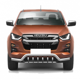 Bumper Isuzu D Max - With Stainless Steel Claws - (from 2020)