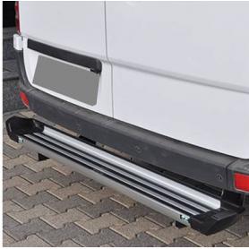 Custom Transit Rear Step - Aluminum - from 2012