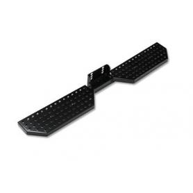 Custom Transit Rear Step - Black or aluminum - from 2012