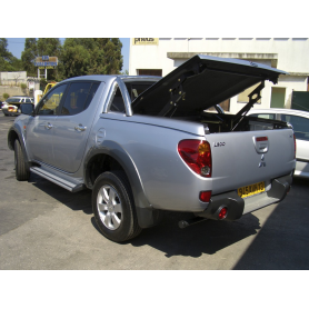 Cover Benne L200 - Multiposition - Roll Bar Inox - (2006 to 2009)