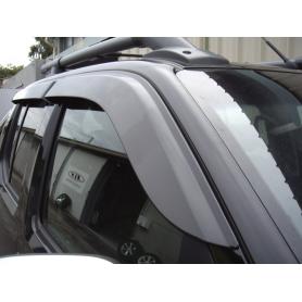 Air Navara deflectors - D40 - Double or King Cabin