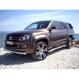 Amarok Bumper Bar - Stainless Protection Bar (before 2016)