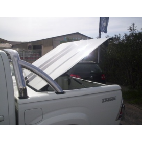 Benne D Max Cover - Classic - Roll Bar Inox - (Crew Cab before 2012)