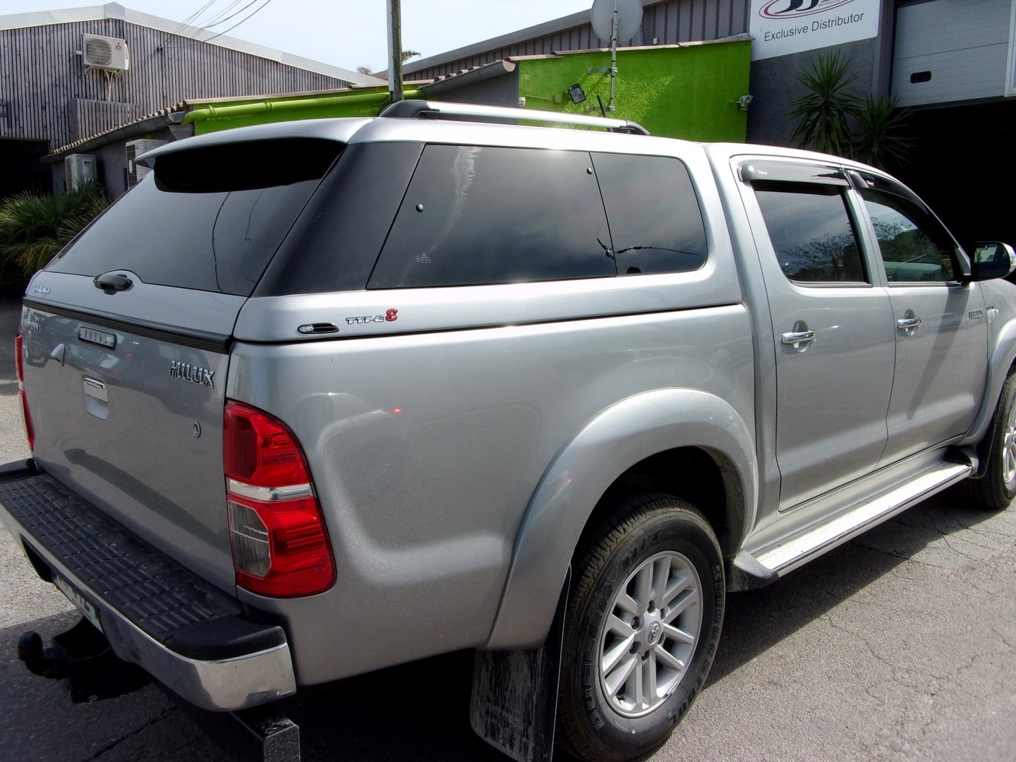 Hard-Top Hilux - Luxe Type E - (Double Cabine de 2006 à 2015)