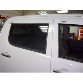 Air Hilux deflectors - (Vigo Double Cabin from 2005 to 2015)