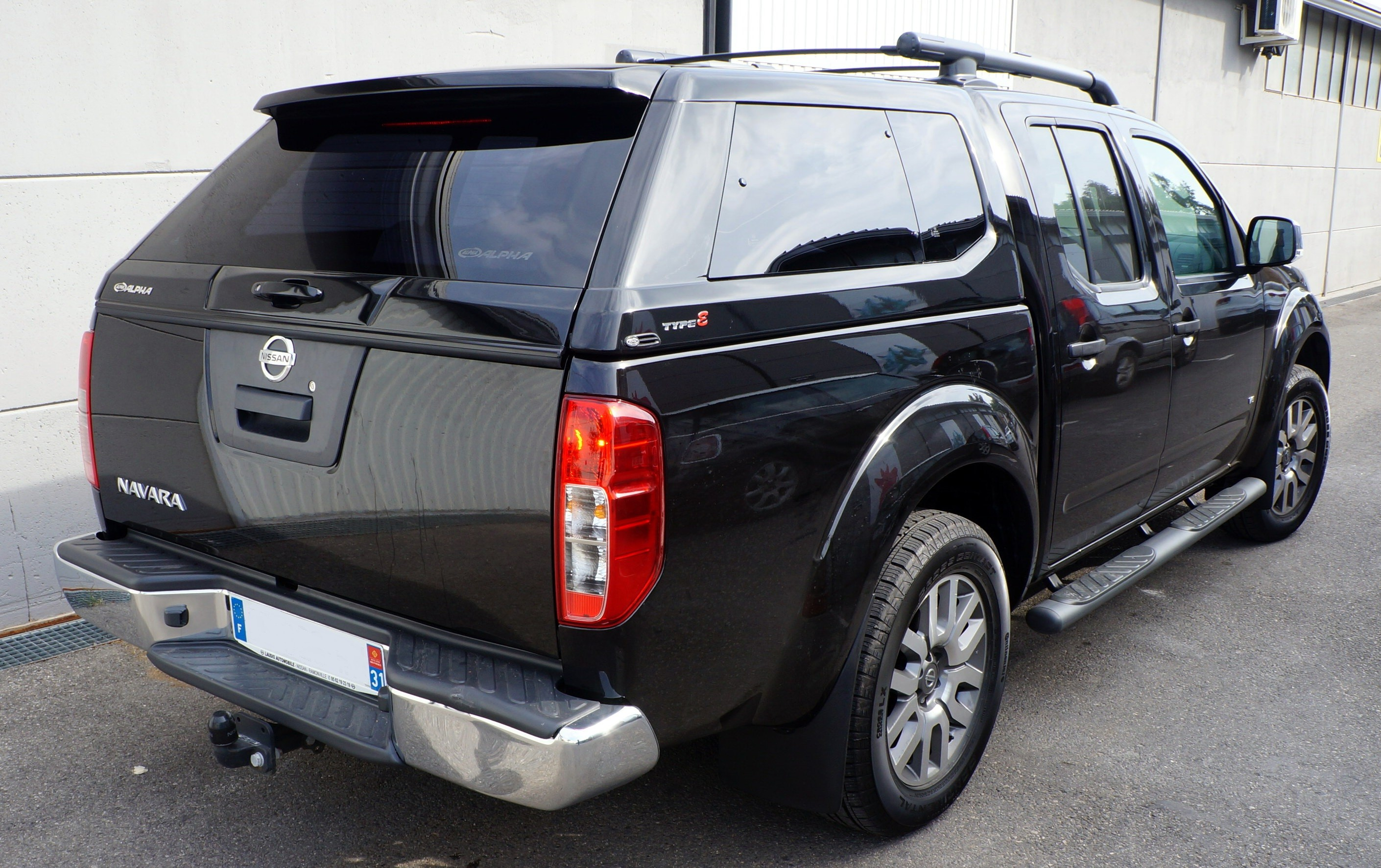 Hard-Top Navara - Luxe Type E - (D40 Double Cabine Benne Longue)