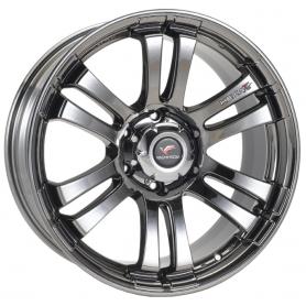 D Max Rims - Alu 20 Inches Yachiyoda - Hexa T6 Black Chrome
