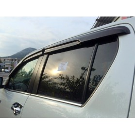 Air Hilux deflectors - (Double Cabin from 2016)