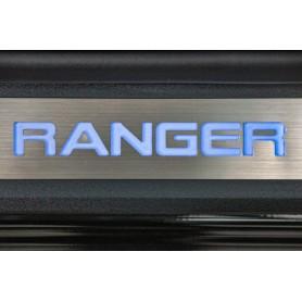 Seuils de Portes Lumineux Ranger -  (Double cab à partir de 2012)