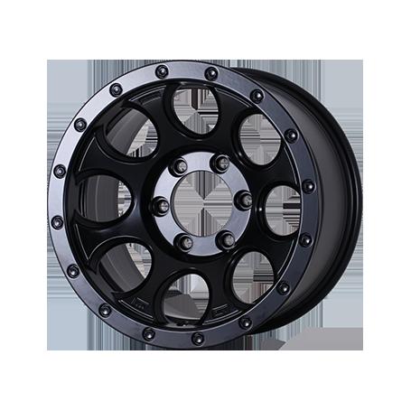 Jantes Fullback - Alu 20 Pouces Yachiyoda -  XJ-01 Black Matt