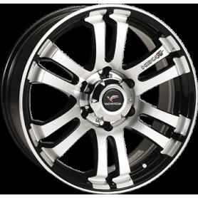 Hilux rims - Alu 20 inches - Hexa T6 Black Sapphire Polish Line