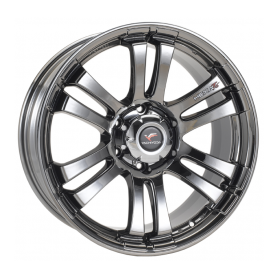 Hilux rims - Alu 22 inches Yachiyoda - Hexa T6 Black Chrome