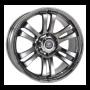 Jantes BT 50 - Alu 22 Pouces Yachiyoda - Hexa T6 Black Chrome
