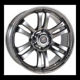 Jantes Fullback - Alu 22 Pouces Yachiyoda - Hexa T6 Black Chrome