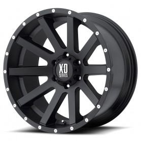 Ranger rims - Alu 18 inches - Heist - Satin Black Milled