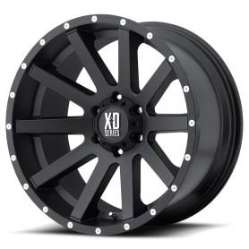 Hilux rims - Alu 18 inches - Heist - Satin Black Milled