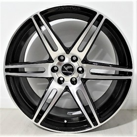 Hilux rims - Alu 20 inches - LX3 - Black Polish
