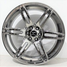 "Jantes Navara - Alu 20"" - LX3 - Black Chrome"