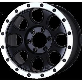 """Jantes Hilux - Alu 20"""" Yachiyoda - XJ-01 Black Matt Bord Polish"""