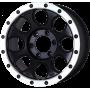"""Jantes L200 - Alu 20"""" Yachiyoda - XJ-01 Black Matt Bord Polish"""