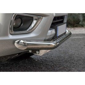 Navara Bumper Bar - Stainless Protection Bar - NP300 from 2016
