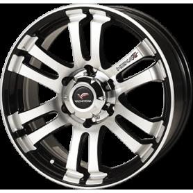 "Alaskan rims - Alu 20"" - Hexa T6 Black Sapphire Polish"
