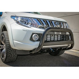 L200 Buffalo Shield - Reinforced Black Stainless - Approved - from 2016