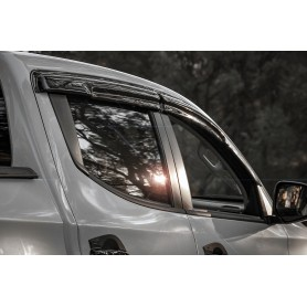 Fullback Air Deflectors - (Double Cabin from 2016)