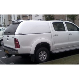 Hard-Top Hilux - SJS Centralized Non-Glazed - Double Cab from 2005 to 2015
