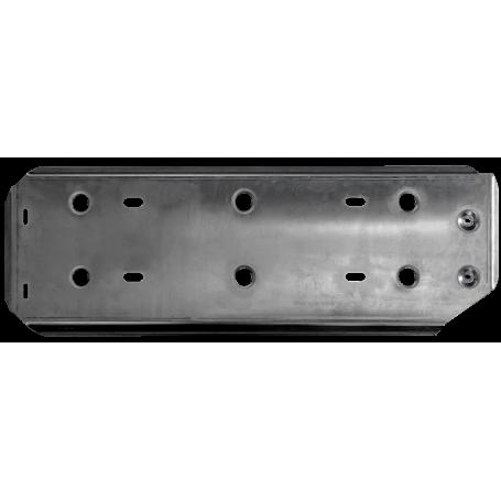 Protection Pont Transmission Amarok - Aluminum - (Double Cabine)