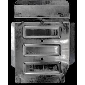 Amarok Transfer SpeedBox Protection - Alu - (Double Cabin)