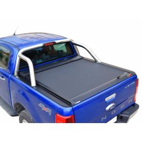 Couvre Benne Ranger XLT et Limited - Rideau Coulissant - Noir Mat