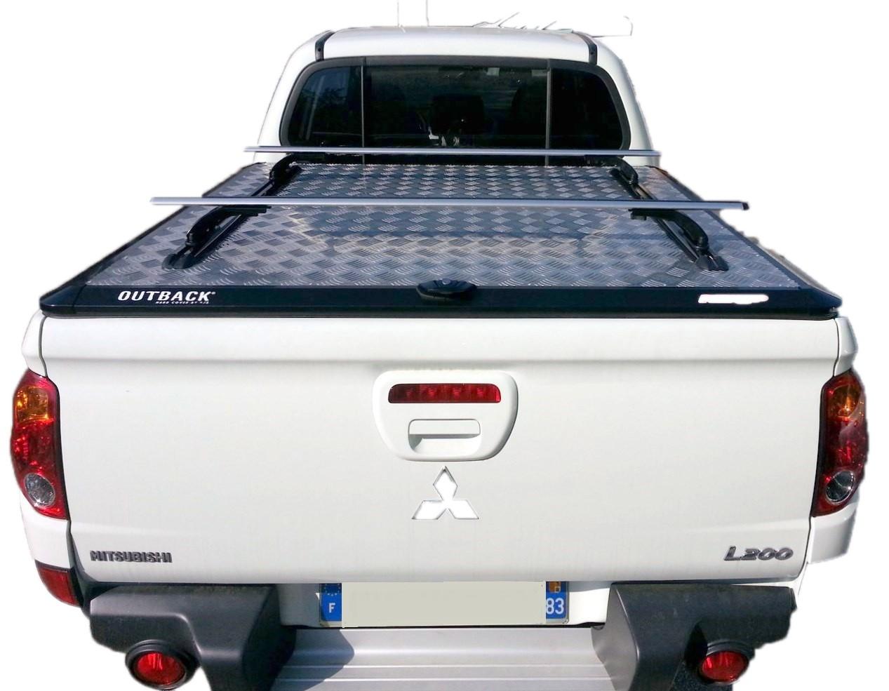 Couvre Benne L200 - Aluminium Outback - (Double Cabine de 2010 à 2015)