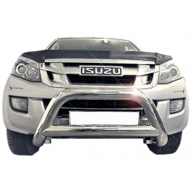 D Max Buffalo Shield - Inox - CE Approved - (RT 50 2012 to 2016)