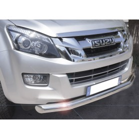 Bumper D Max - Stainless steel protection bar - (RT50 from 2012 to 2020)