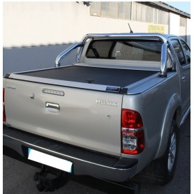 Cover Benne Hilux - Sliding Curtain - (Invincible from 2012 to 2015)