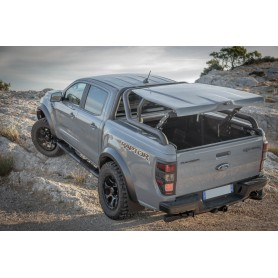Couvre Benne Ranger - Multiposition + Roll Bar - (Raptor Double Cab)