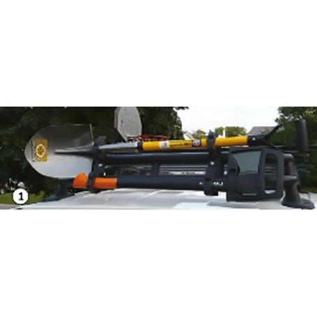 Quickfist Clamps - 2 Unités - Fixation sur barres ou tubes 25-64 mm