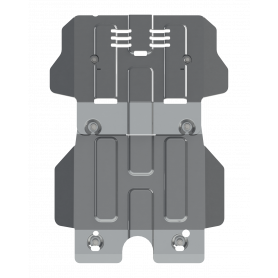 Hilux Engine Armour - Alu 6mm - (from 2016)