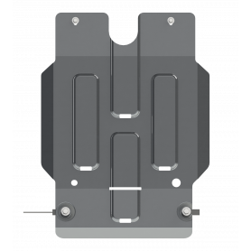 Hilux SpeedBox Armour - Alu 6mm - (from 2016)