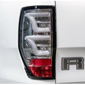 Feux LED Ranger - Fond Chrome - Verre Fumé Clair