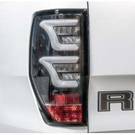 Feux LED Ranger - Fond Noir - Verre Fumé Clair