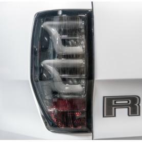 Feux LED Ranger - Fond Chrome - Verre Fumé Noir
