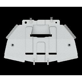 Blindage Boite de Vitesse Classe X - Alu 6mm - (à partir de 2016)